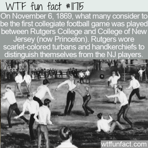 WTF Fun Fact - Before Shirts Vs Skins