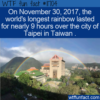 WTF Fun Fact – Longest Rainbow