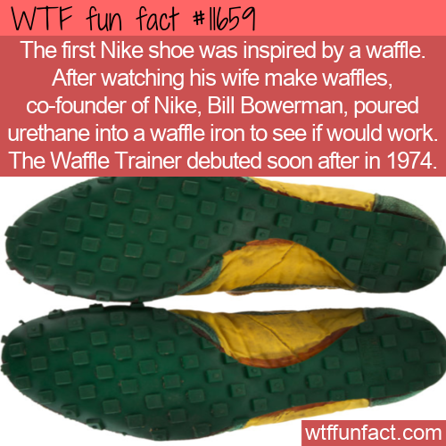 WTF Fun Fact - Nike Waffle Trainer