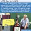 WTF Fun Fact – No OJ But A Jackpot Instead