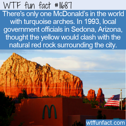 WTF Fun Fact - Not So Golden Arches