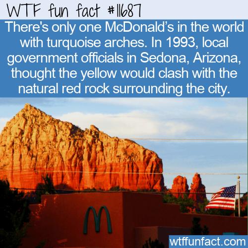 WTF Fun Fact - Not So Golden Arches