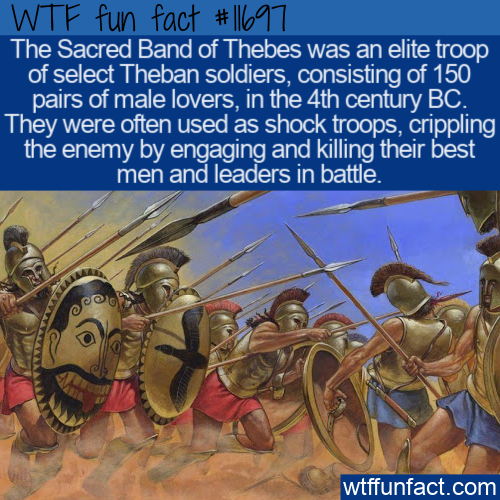 WTF Fun Fact - Sacred Band of Thebes