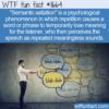 WTF Fun Fact – Semantic Satiation
