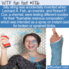 WTF Fun Fact – Spray On Cast Or Silly String
