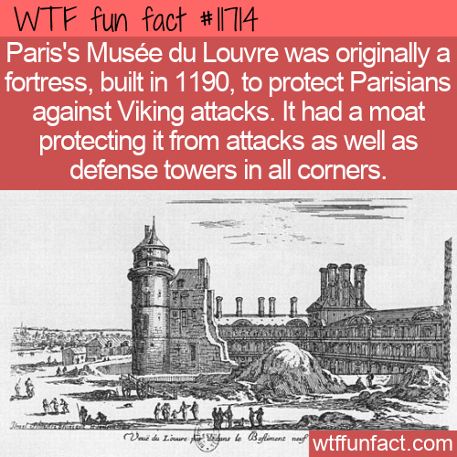 WTF Fun Fact - The Louvre Fortress