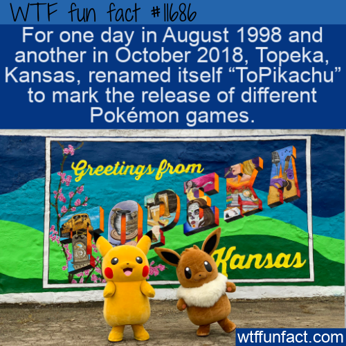 WTF Fun Fact - ToPikachu Kansas