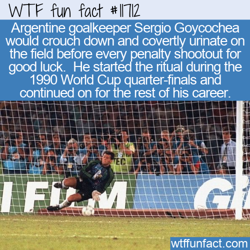 WTF Fun Fact - Urinating For Good Luck