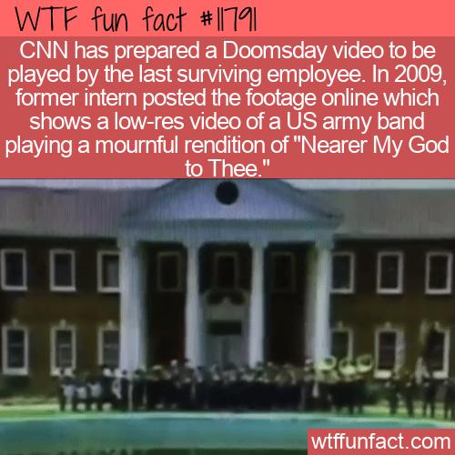 WTF Fun Fact - CNN Doomsday Video