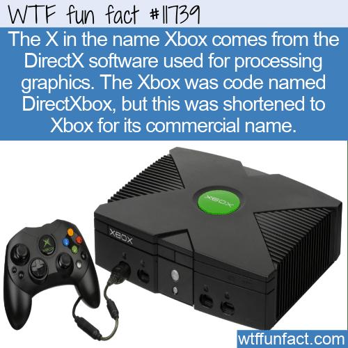 WTF Fun Fact - DirectXbox