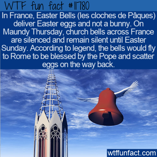 WTF Fun Fact - Easter Bells