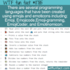 WTF Fun Fact – Emoji-Based Programming Languages