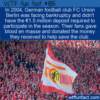 WTF Fun Fact – Fans Donate Blood To Save Team