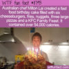 WTF Fun Fact – Fast Food Birthday Cake