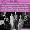 WTF Fun Fact – Hats Stop Radio Coverage For Kings Wedding