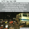 WTF Fun Fact – Hillbrow Defenestrates On NYE