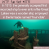 WTF Fun Fact – Invincible First To Sink