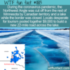 WTF Fun Fact – New Ice Road To The Northwest Angle