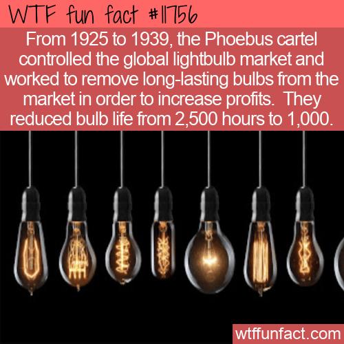 WTF Fun Fact - Phoebus Cartel