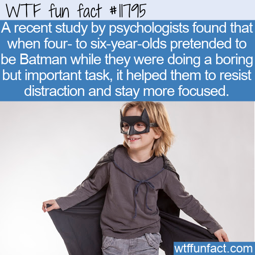 WTF Fun Fact - Pretend To Be Batman
