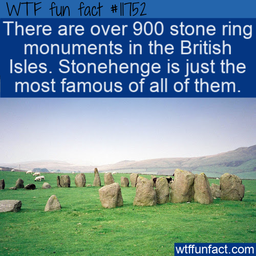 WTF Fun Fact - Stonehenge Just One Of Many