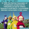 WTF Fun Fact – Teletubbies Condemned By Pediatricians