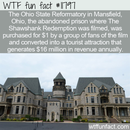 WTF Fun Fact - The Ohio State Reformatory