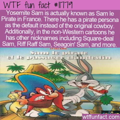 WTF Fun Fact - Yosemite Sam or Sam le Pirate