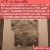 WTF Fun Fact – Bath Curse Tablets