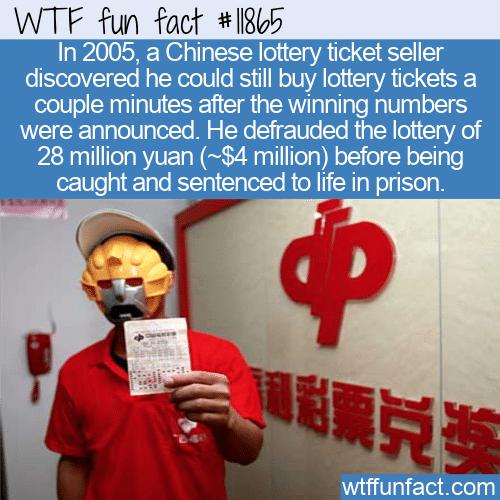 WTF Fun Fact - Cheaters Never Prosper