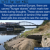 WTF Fun Fact – Hunger Stones