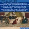 WTF Fun Fact – Long Speech Short Reign