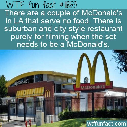 WTF Fun Fact - Not Your Ordinary McDonald's