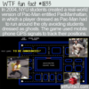 WTF Fun Fact – PacManhattan