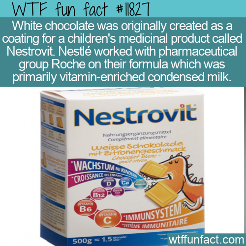 WTF Fun Fact - The Creation Of White Chocolate