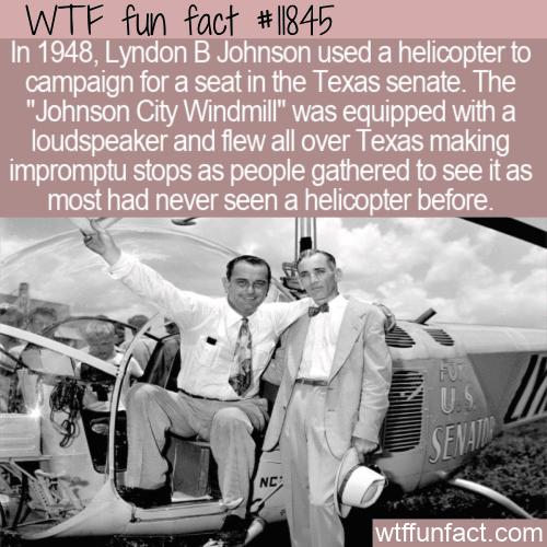 WTF Fun Fact - The Johnson City Windmill