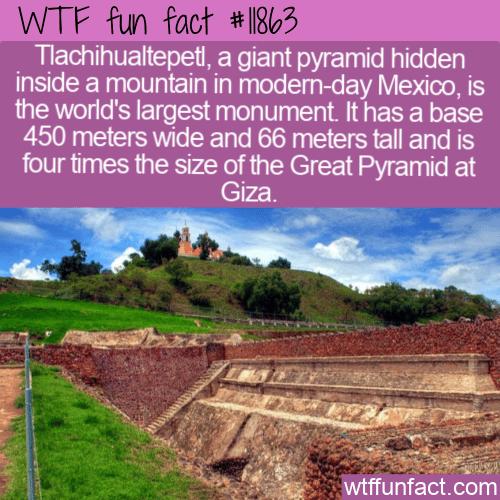 WTF Fun Fact - Tlachihualtepetl