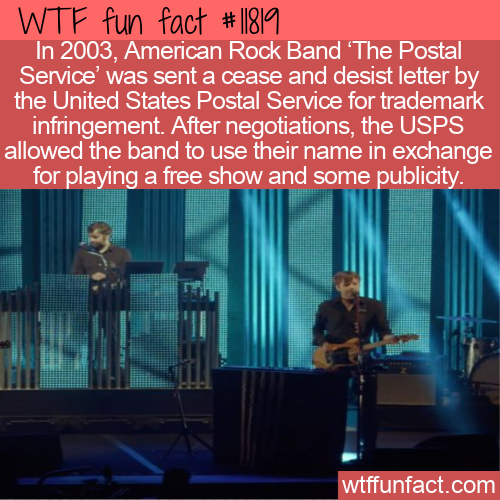 WTF Fun Fact - USPS vs The Postal Service