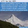 WTF Fun Fact – World's Highest Unclimbed Mountain