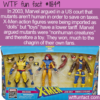 WTF Fun Fact – X-Men Are Not Dolls