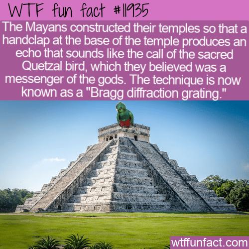 WTF Fun Fact - Amazing Mayan Temple Trick