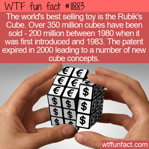 WTF Fun Fact - Best Selling Toy