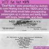 WTF Fun Fact – Deaf Flights
