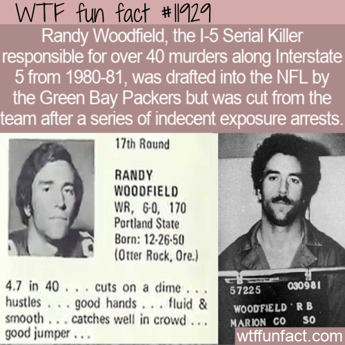 WTF Fun Fact - From NFL To Serial Killer