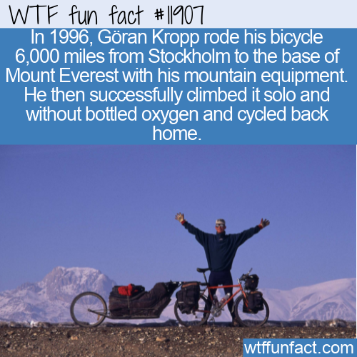WTF Fun Fact - Göran Kropp