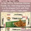 WTF Fun Fact – I Hate Peas