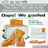 WTF Fun Fact – Pop-Tarts All Sold Out