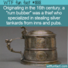 WTF Fun Fact – Rum Bubber