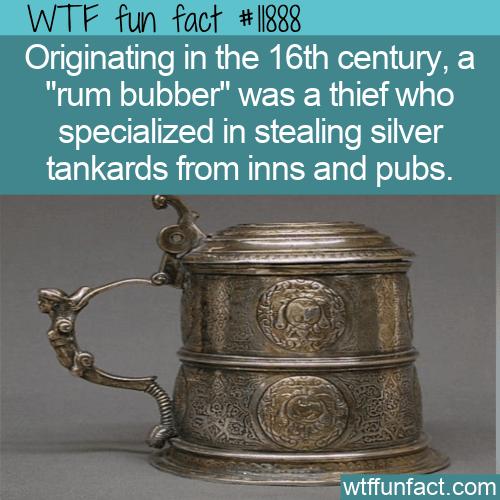 WTF Fun Fact - Rum Bubber