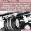 WTF Fun Fact – Spitfire Beer Keg Delivery